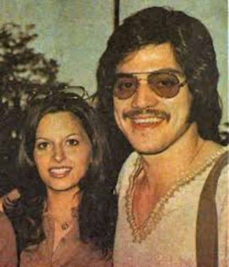 Kathy Prinze With her late Husband Freddie Prinze Sr.