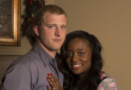 Alexus Whilby with her husband Kyle Chrisley