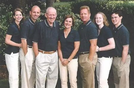Sean McDonough with family