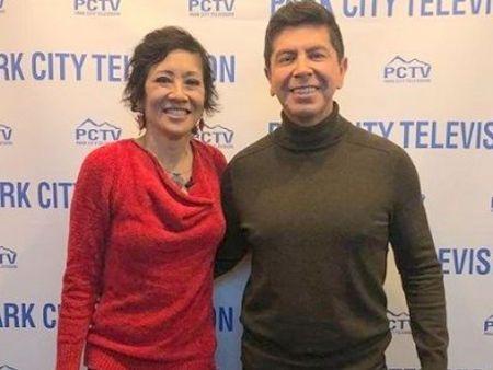 Wendy Chioji with her husband Mark NeJame