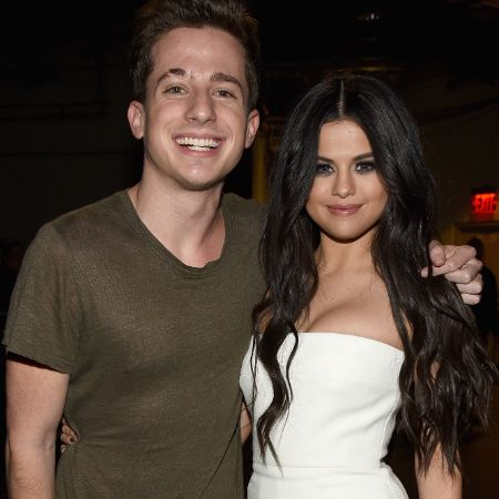 Charlie Puth with talented star Selena Gomez