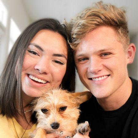 The cute couple of Haley Pham and Ryan Trahan
