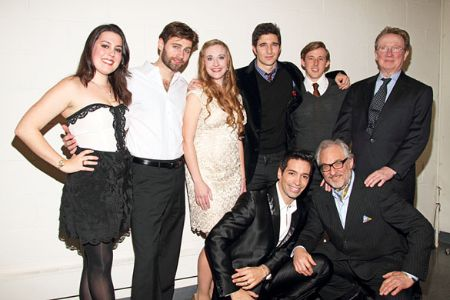 Actor Laurence with all his Children