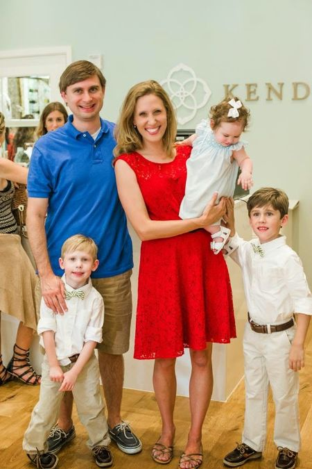 Kendra Scott provides her children with a great life