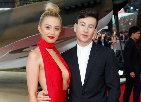 Barry Keoghan with his girlfriend