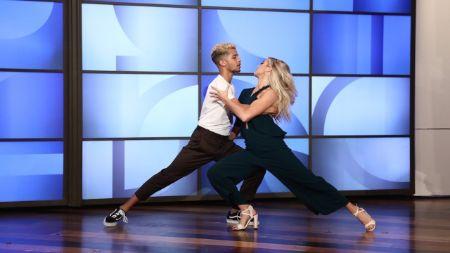 Jordan Fisher is also a dancer