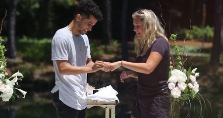 Jordan Fisher is engaged to Ellie Woods