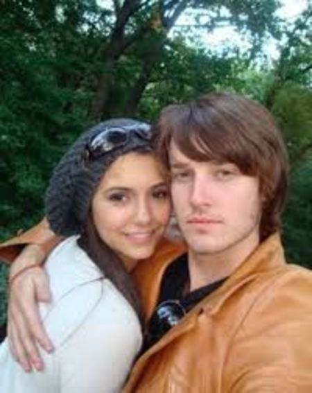 Nina Dobrev with her ex-boyfriend, Evan Williams