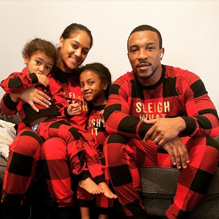Rive Walters with his Family