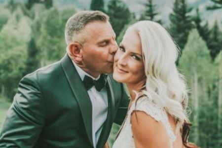 Sharee Hough married her husband, Mark Selman