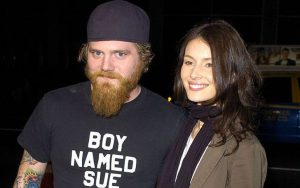 Angie Cuturic with her boyfriend Ryan Dunn
