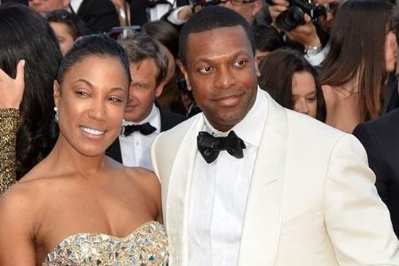 Pryor with her ex-husband Chris Tucker