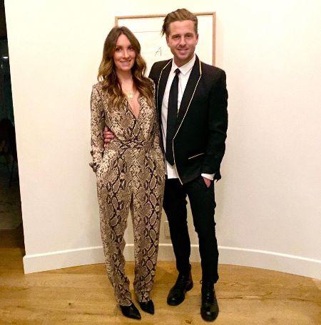 Genevieve Tedder and her husband Ryan Tedder.