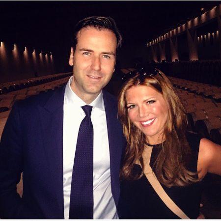 James A. Ben with his wife Trish Regan