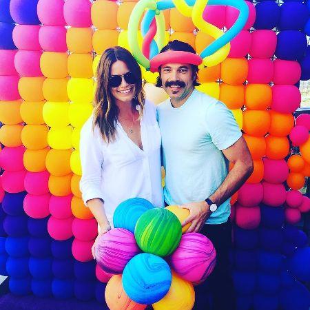 Linzey Rozon celebrating her husband's Birthday.