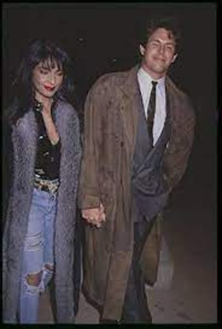 Apollonia Kotero with her ex-husband, Kevin Bernhardt