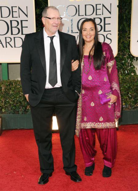 Catherine Rusoff with her husband, Ed O'Neil