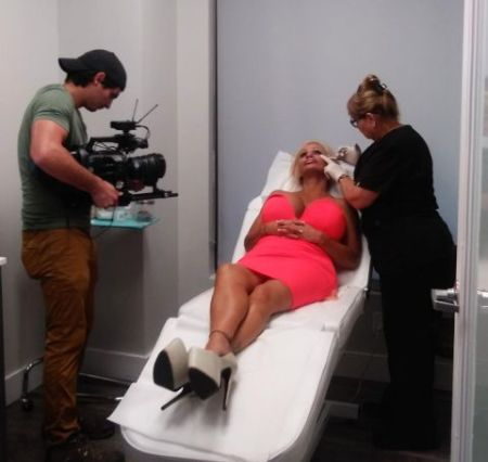 Lacey Wildd undergoing surgery in front of the cameras