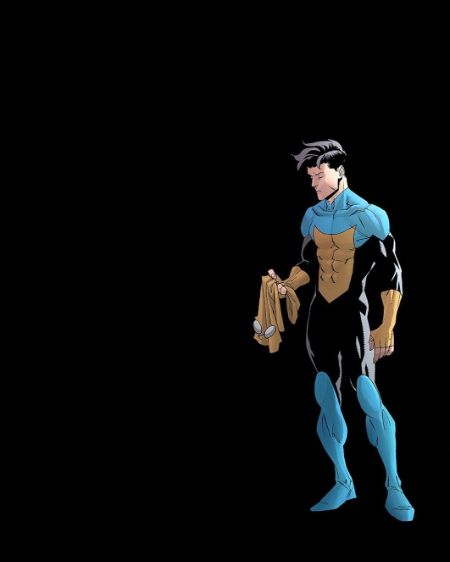 Invincible without his mask