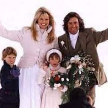 Richard with his family