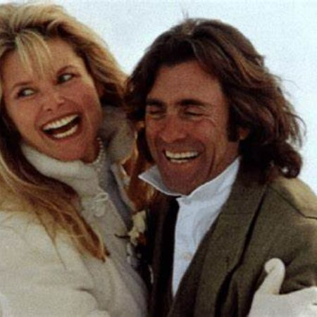 Richard Taubman with his ex-wife Christie