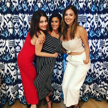 Nikki Bonacorsi with her friends