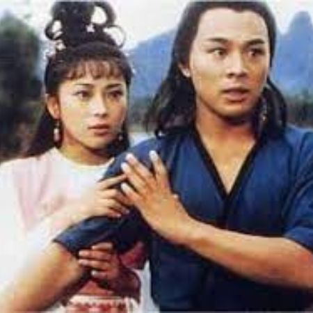Qiuyan Huang in a movie scene