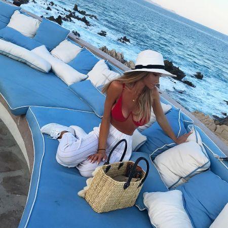 Haley Giraldo enjoying her lavish vacation