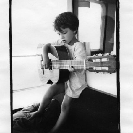 Eve Hewson in her childhood days.