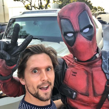 Nik Hirschi was shocked to meet Deadpool.