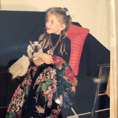 Evelyn Taft during her childhood