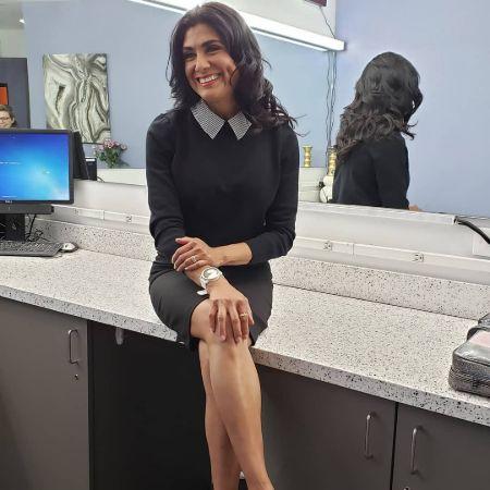 Vera Jimenez ready for her work.