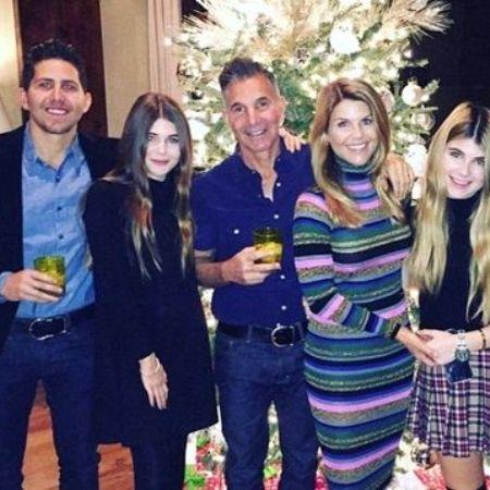 Gianni Giannulli with his family