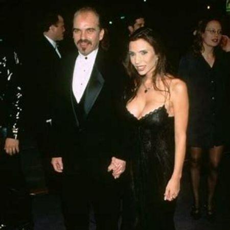 Pietra with her ex-husband Billy Bob Thornton.