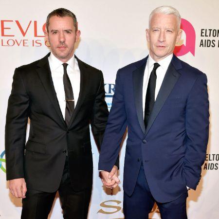 Benjamin Maisani with his ex-boyfriend Anderson Cooper