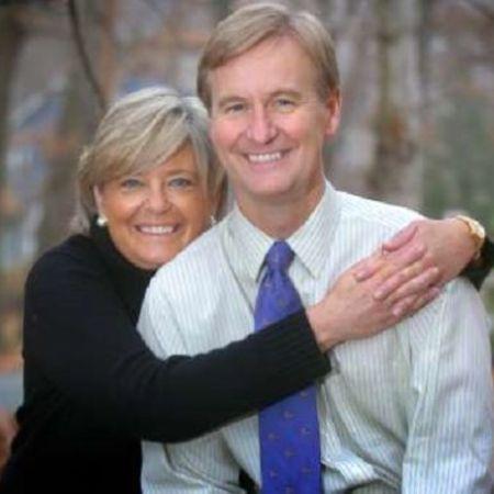 Kathy Gerrity with her husband, Steve Doocy