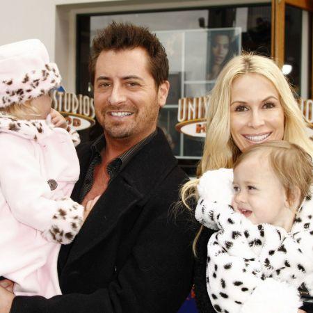 Daniel Toc with his ex-wife, Kim Zolciak-Biermann and children.