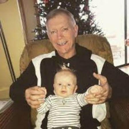 Robert Luke Yunaska with his grandson, Luke Trump.