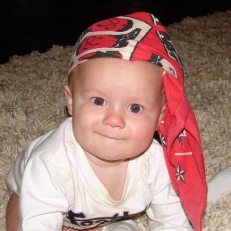 Hayden Summerall in his childhood days.
